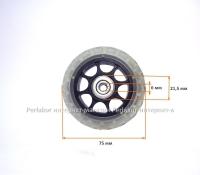 Колесо для чемодана №62 (диаметр 75 мм.)